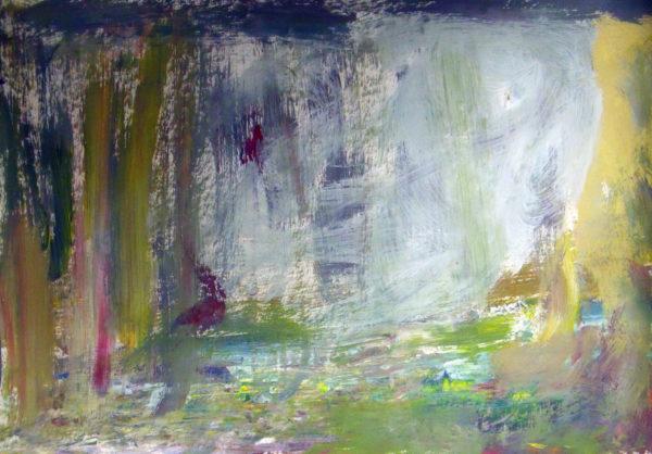 Landscape in deep woodland by Sasha Dee