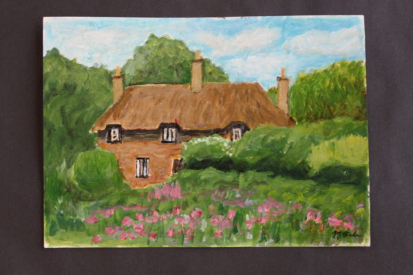Hardys cottage by Martin Cale