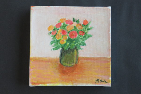 Still life with flowers by Martin Cale