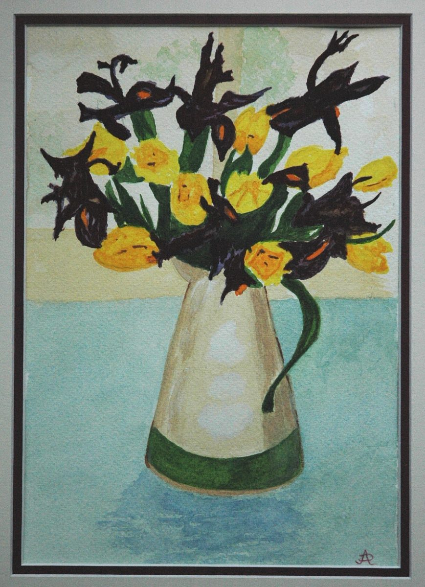 7961    2291    Yellow and Violet Flowers    If you intend to put this work up for sale    4144