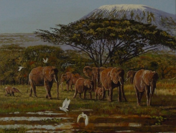 Kilimanjaro by Robert Wesley