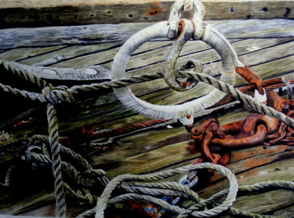Ropes on the Quayside by jayne morgan