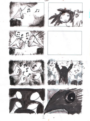 story board by paul jacques