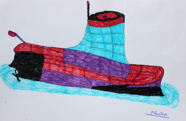 submarine by Philip Knights