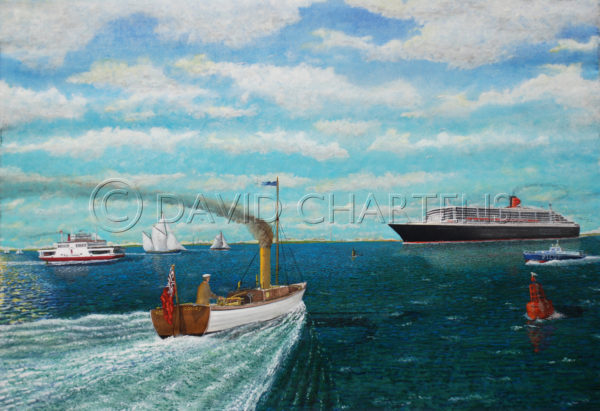 Queen Mary by David Chartens