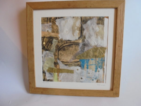 Mixed media collage 43 by jess levine