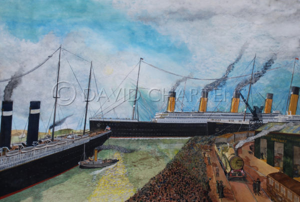 Southampton and Oceanic by David Chartens