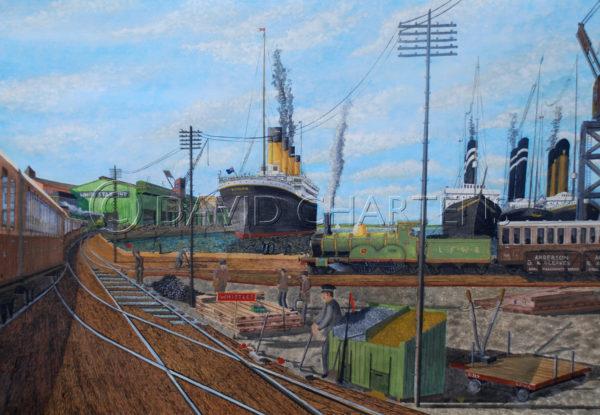 Southampton Stern by David Chartens