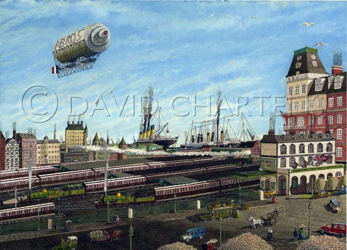 4055 || 1715 || The Ocean Dock at Southampton April 10th 1912 || If you intend to put this work up for sale || 3380