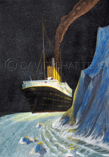 Stern Past the Iceberg by David Chartens