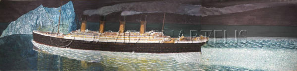 Titanic and Iceburg by David Chartens