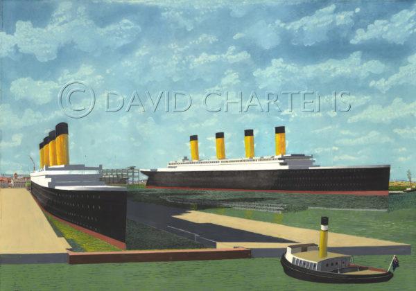 Titanic Belfast by David Chartens