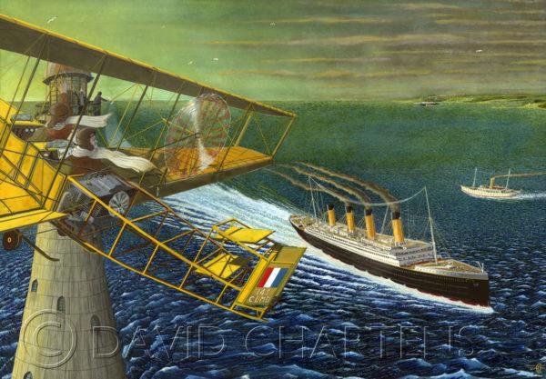 Titanic Panoramic by David Chartens