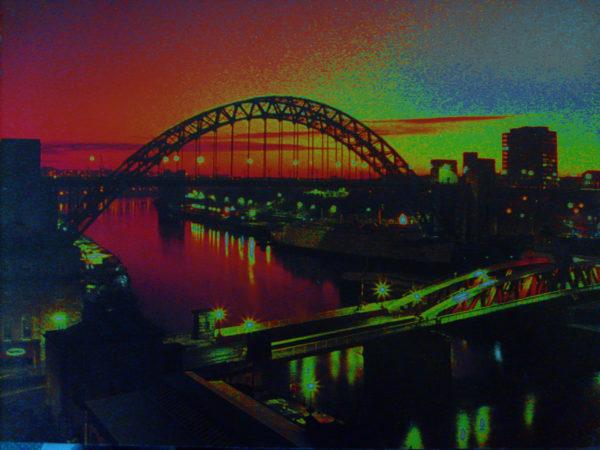 Tyne Bridge at Night by deltawave