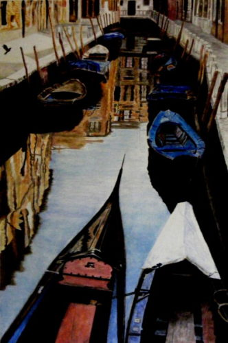 Venetian Canal by jayne morgan