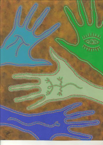 Aboriginal Hands by James Knights
