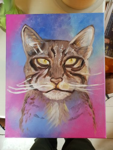 Scottish Wildcat by Voodoo portrait