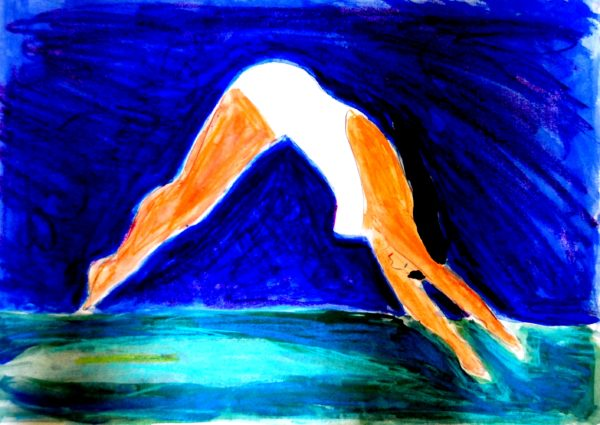 Diving-Girl.jpg by David Russell