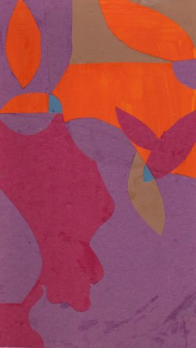 Abstract with garden motif. by Stephen Powlesland