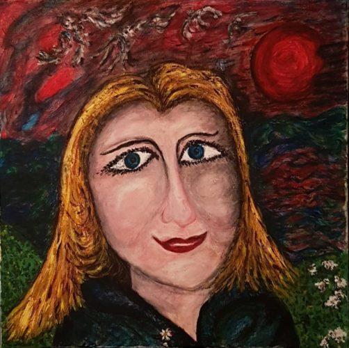 Katie-portrait-.jpg by Waltraud Pospischil