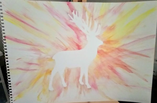 Stag by My art unfolding