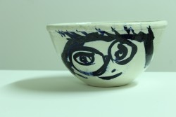 Photograph of a painted ceramic bowl