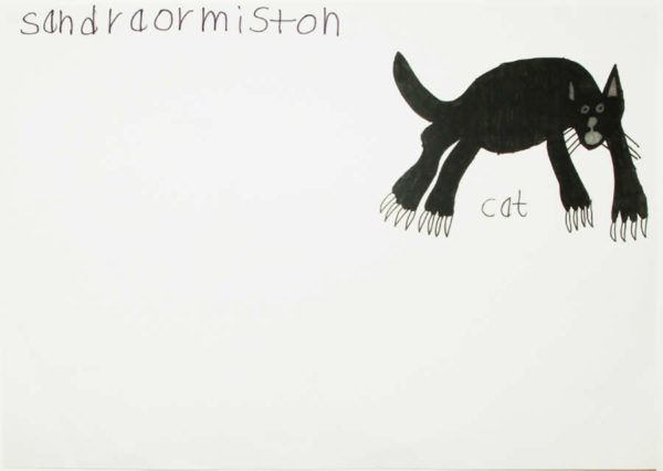 'Cat' by Sandra Ormiston