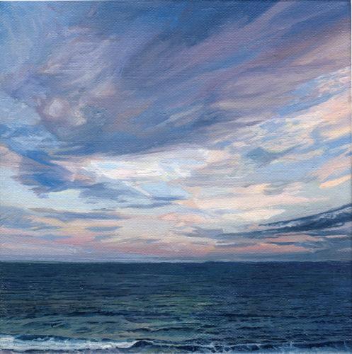 Seascape triptych by MonJon