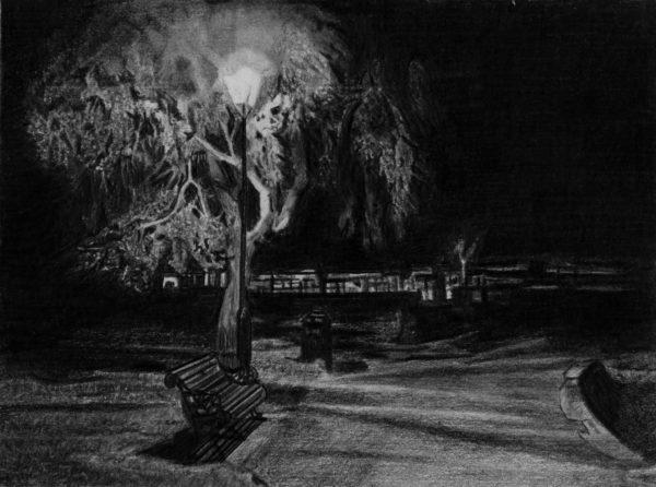 Christchurch at night part 1 by MonJon