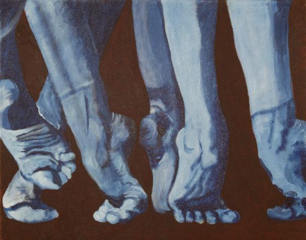 Ballet Dancer's Feet by Peter David Cassin