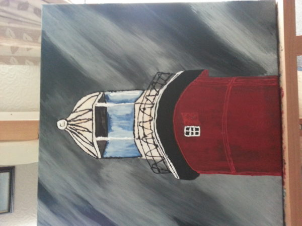 Plymouth lighthouse by Caron Quartemain