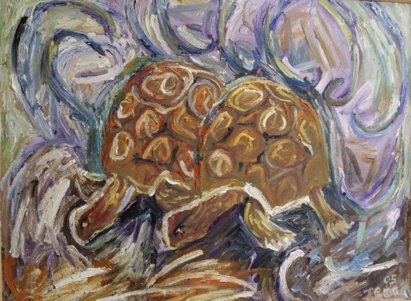 Two Turtles by Yvette in the Orangery