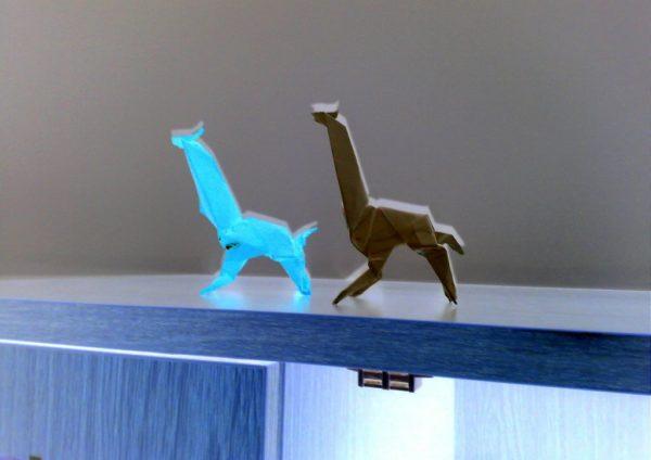 Two Giraffes by Alex Horn