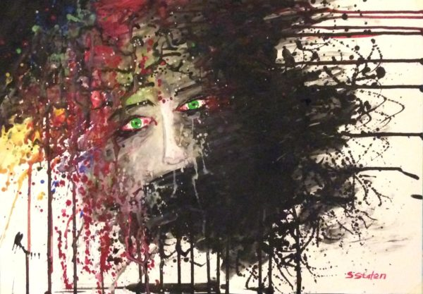 Head Explosion by Sharon  Staten