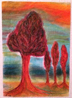 the flaming trees by clifford