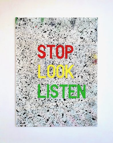 Stop Look Listen by Grade One