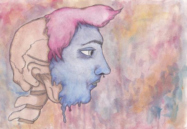 Self portrait with a twist by Joe Mcgwynn