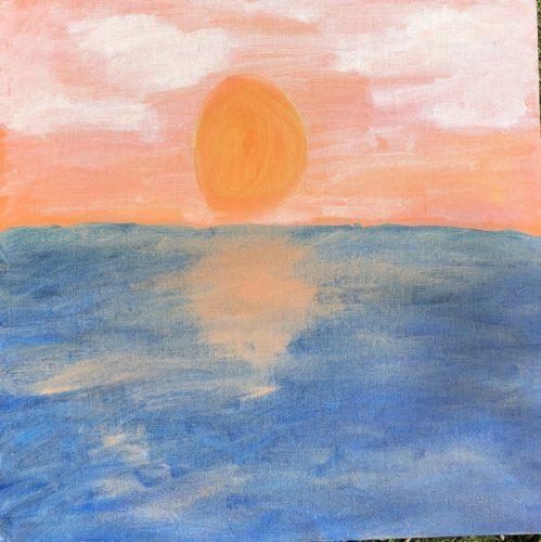 Sunset by Leah Vafaye