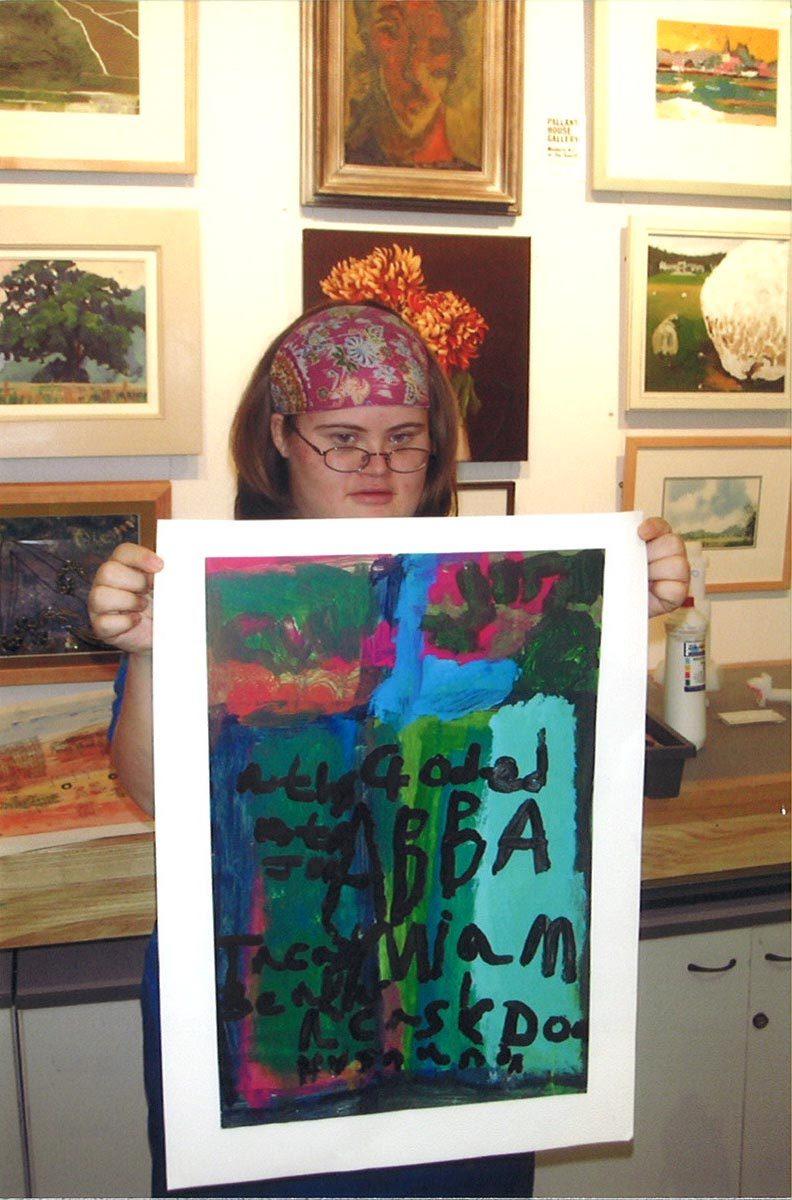 2486    1445    Abba Poster Louisa Higgins