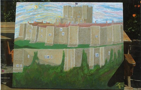 Dover Castle by Thomas France