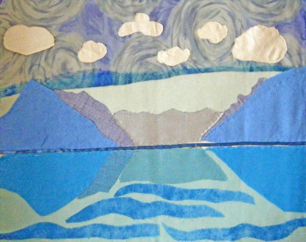 Interpretation of 'Lake Thun' by Ferdinand Hodler by Gary McEvoy