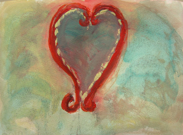 Heart by Sharron Rosa-Giles