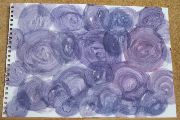 Purple Roses by My art unfolding