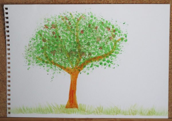 Green Tree by My art unfolding