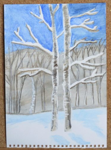 Birch Trees by My art unfolding