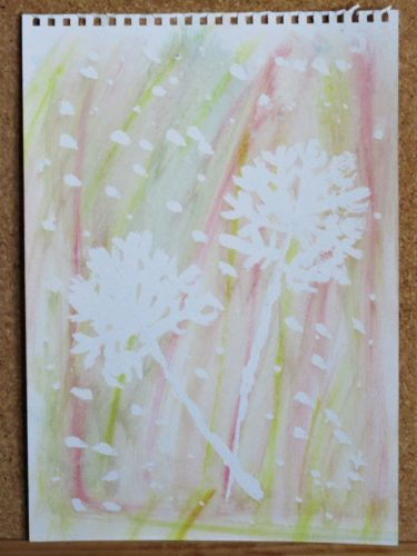 Snow Flowers by My art unfolding