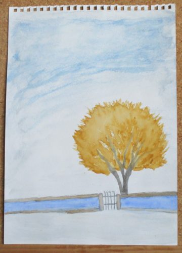 Mustard Tree by My art unfolding