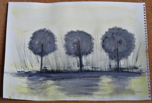 Trio Of Trees by My art unfolding