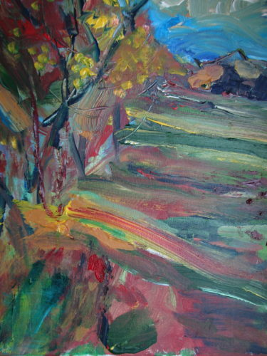 Autumn Scene by David Jackson