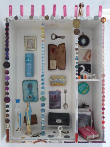 Nanny Allen's Top Drawer shrine by Elizabeth Mienert